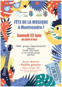 Fête de la musique 2019 à Montvendre