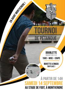 Tournoi pétanque EAM